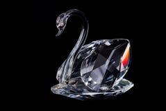 Crystal Swan royalty-vrije stock fotografie
