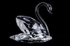 Crystal Swan stock afbeelding