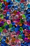 Crystal textur för färgrik sten för akryl crystal Arkivbild