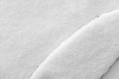 Crystal texture of winter snow cover Royalty Free Stock Photography