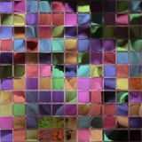 Crystal tiles generated hires texture Royalty Free Stock Images