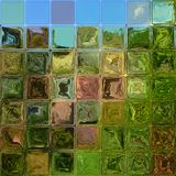 Crystal tiles generated hires texture Royalty Free Stock Image