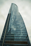 Crystal Tower, skyscraper of Madrid, placed in financial zone ,f Royalty Free Stock Photo