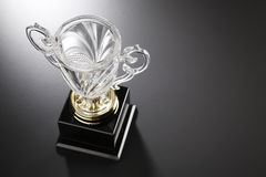 Crystal trophy Stock Photos
