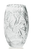 Crystal vase Stock Images