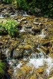 crystal vatten Arkivfoto