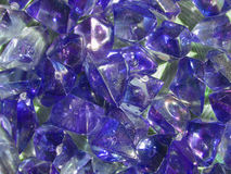 Crystal violet background Royalty Free Stock Photography