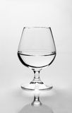 Crystal water. Crystal clear glass of water royalty free stock images