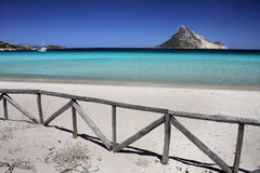 Crystal water in mediterranean sea.  Stock Photos
