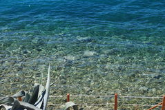 Crystal waters, glassy sea  Stock Photography