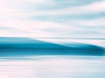 Crystal Wave Abstract Arkivbild