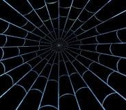 Crystal Web Dark Stock Photos