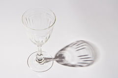 Crystal wineglass Royalty Free Stock Photos