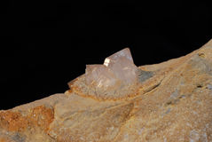 Crystal wth little pointy Stock Photography
