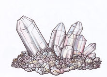 Crystal (Zen Pictures, 2011) Royalty Free Stock Photos