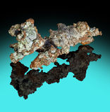 Crystaline Copper Royalty Free Stock Photo