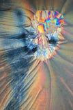 Crystallic Curves Stock Photo