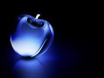 Crystalline blue apple Stock Image
