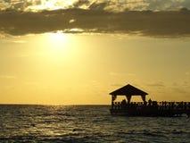 Caribe Dominican Republic. Crystalline Caribe Sea Waters In Dominican Republic stock photos