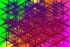 Crystalline Matrix Stock Photo