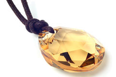 Crystalline pendant Royalty Free Stock Image