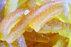 Crystallized fruit Royalty Free Stock Photos