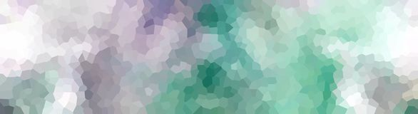 Crystallized Header Banner Purple Turquoise Royalty Free Stock Photography