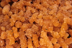 Crystallized sugar Royalty Free Stock Photo