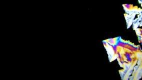 Crystalltillväxt för vitamin B6 lager videofilmer