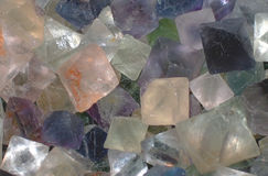 Crystals. Rocks Stock Images