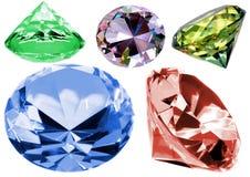 Crystals Stock Photo