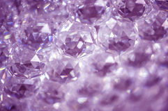 Crystals abstract background Royalty Free Stock Photo