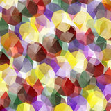 Crystals Abstract. Abstract background vector illustration of a pattern of colored crystals royalty free illustration