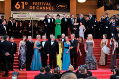 The Crystals,CATE BLANCHETTE,Calista Flockhart,Cate Blanchett,George Lucas,Harrison Ford,Karen Allen,Kate Capshaw,Steven Spielberg Stock Images