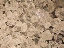 Crystals clear white Stock Photos