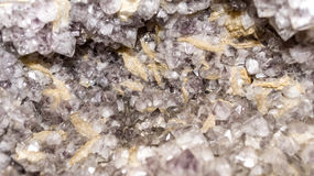 Crystals of fluorite Royalty Free Stock Photography