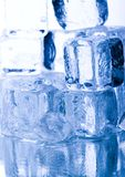 Crystals ice cubes Royalty Free Stock Image