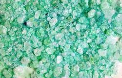 Crystals of large sea salt Stock Photos