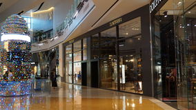 The Crystals Mall in Las Vegas, Nevada Royalty Free Stock Photography