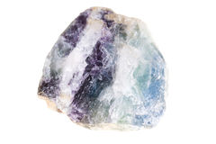 Crystals of natural fluorite Stock Photos
