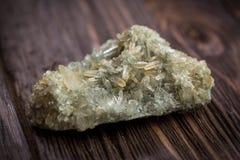 Crystals of quartz Royalty Free Stock Image