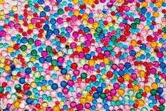 Crystals Rhinestone Background Stock Image