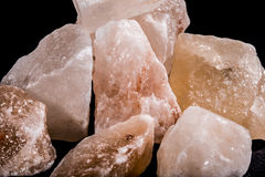 Crystals salt Royalty Free Stock Photo