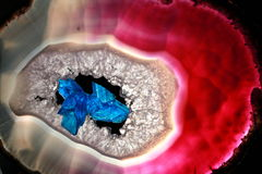 Free Crystals Scarlet/blue Royalty Free Stock Photo - 1759865