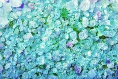 Crystals of sea salt Royalty Free Stock Photo