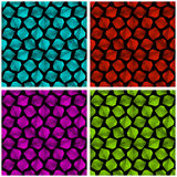 Crystals. Seamless pattern. Royalty Free Stock Photo