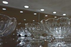 Crystalware eksponował przy Hofburg przy Cesarskim Srebnym Inkasowym muzeum obrazy royalty free