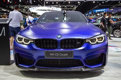 CS BMWs M4 Coupé stockfotografie