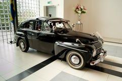 CS de Volvo PV444 en el museo de Louwman Fotos de archivo libres de regalías