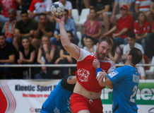 CS DINAMO BOEKAREST WINT NATIONALE HANDBALtitel Royalty-vrije Stock Foto